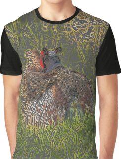 The Art of Love - Wild Pheasants Graphic T-Shirt