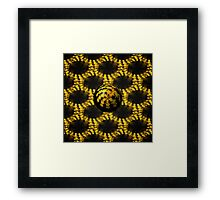 3d Fractal Ball Framed Print