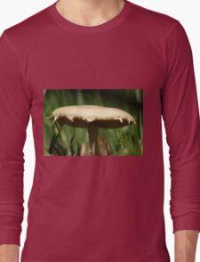 Wild Mushroom extremely close up. Long Sleeve T-Shirt