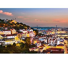Lisbon Sunset Photographic Print