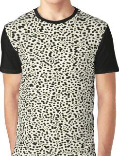 Cell Pattern Black Bubbles Graphic T-Shirt