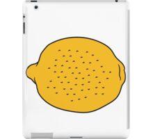 lemon tasty eat sour iPad Case/Skin