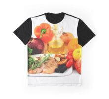 Ingredients for Cooking Chicken Salad. Graphic T-Shirt
