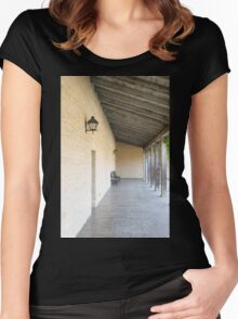 Old Outside Corridor Women's Fitted Scoop T-Shirt