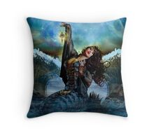 Sea Witch Throw Pillow