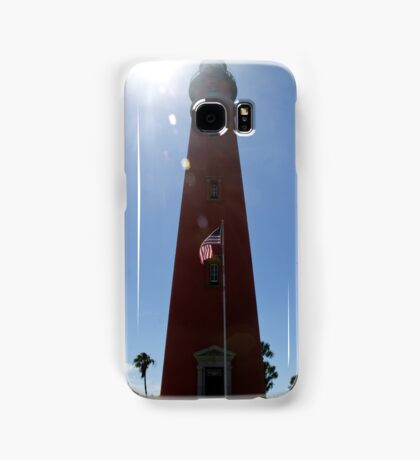 Sun Shines on Ponce de Leon Inlet Lighthouse Samsung Galaxy Case/Skin