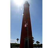 Sun Shines on Ponce de Leon Inlet Lighthouse Photographic Print