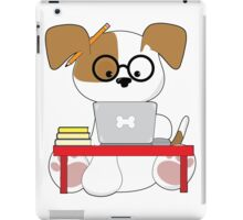 Cute Puppy and Laptop iPad Case/Skin