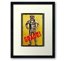 ASTRONAUT - DAWN OF THE SPACE AGE Framed Print