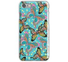 Psychedelic Butterflies iPhone Case/Skin