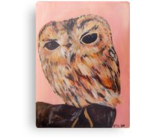 Owl Two Canvas Print