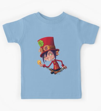Steampunk Leprechaun Kids Tee