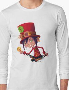 Steampunk Leprechaun Long Sleeve T-Shirt