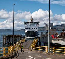 Ferry at Wemyss Bay, Scotland by Jeremy Lavender Photography