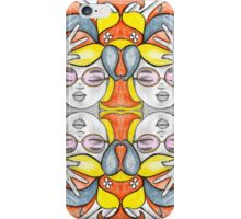 Rose Tinted Bebe x 4 iPhone Case/Skin