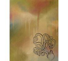 Octopus - Autumn Background Photographic Print