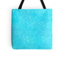 Anime Water Texture Tote Bag