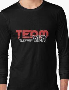 TeamVLR Logo Transparent Long Sleeve T-Shirt