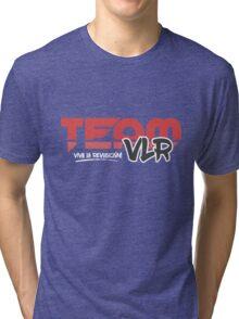 TeamVLR Logo Transparent Tri-blend T-Shirt