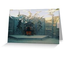 Music in the desert Greeting Card