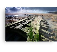 Shipwreck II - Willemoes Cloud Metal Print