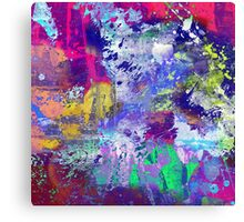 Rainbow Anguish Canvas Print