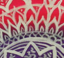 Mandala Art Sticker