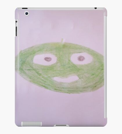 The green pea design iPad Case/Skin