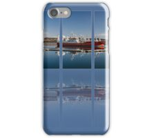 Killybegs Harbour Triptych iPhone Case/Skin