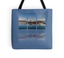 Killybegs Harbour Triptych Tote Bag
