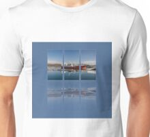 Killybegs Harbour Triptych Unisex T-Shirt