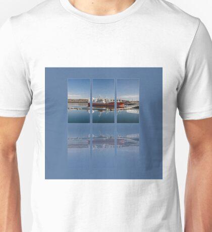 Killybegs Harbour Triptych Unisex T-Shirt