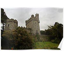 House at Glenveagh National Park Poster