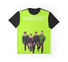 Weezer - Green Album Graphic T-Shirt