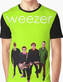 Weezer - Green Album Graphic T-Shirt