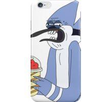 Mordecai brain freeze!! iPhone Case/Skin