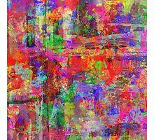 Vibrant Chaos Photographic Print