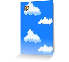 Tails in the sky Greeting Card