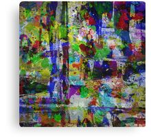 Circus Of Colour Canvas Print