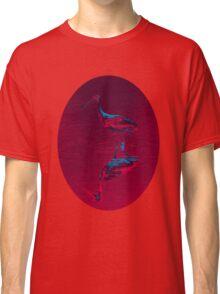 Spoonbill Abstract Decor Classic T-Shirt