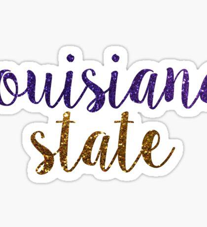 Louisiana State University Sticker