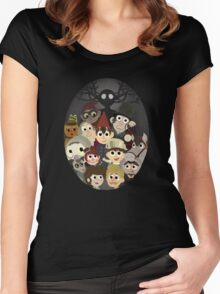 Over the garden wall and friends Women's Fitted Scoop T-Shirt