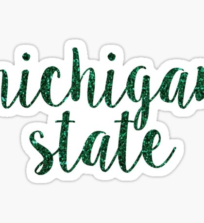 Michigan State University Sticker