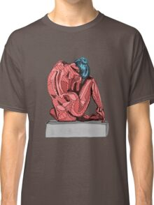 Female Nude Red I Classic T-Shirt
