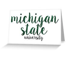 Michigan State University Greeting Card
