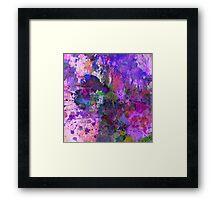 Lilac Chaos Framed Print