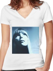 We Are Stardust Women's Fitted V-Neck T-Shirt