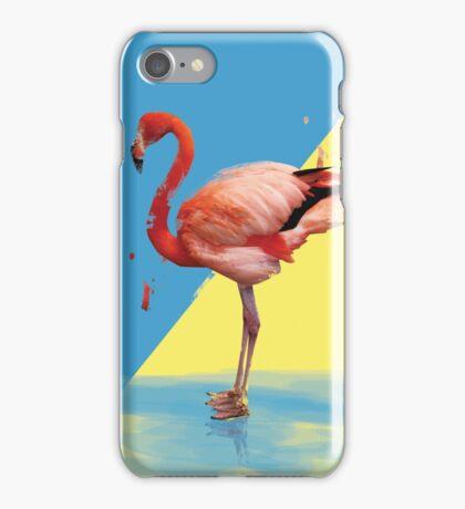 Flamingo bird iPhone Case/Skin