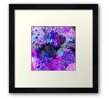 Blue Velocity Framed Print