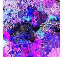 Blue Velocity Photographic Print
